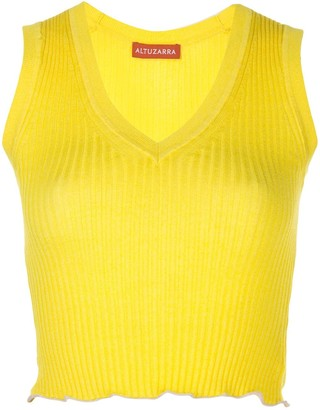 Altuzarra Parrish knitted top