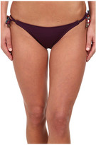 Sofia by Vix Vix Solid Berry Long Tie Hipster Bottom