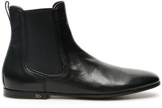 Dolce & Gabbana Black Acapulco Erice Boots