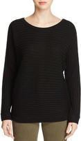 H. ONE Horizontal Ribbed Sweater
