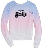 Wildfox Couture Girls' Just Smile Pullover - Big Kid