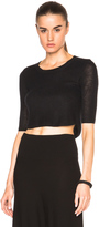 Soyer Cashmere Crop Top