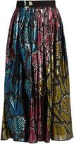 Marc Jacobs Patchwork python-print midi skirt