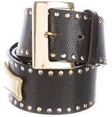 Gianni Versace Medusa Leather Belt