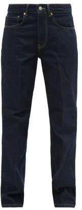 Raey Push Straight-leg Jeans - Indigo