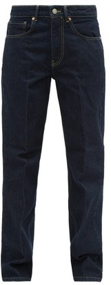 Raey Push Straight-leg Jeans - Womens - Indigo