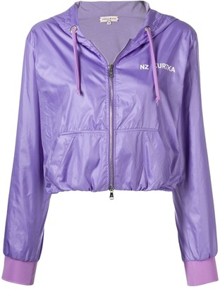 Natasha Zinko Cropped Jogging Jacket