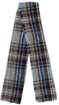 Alexander Olch Check Wool Scarf