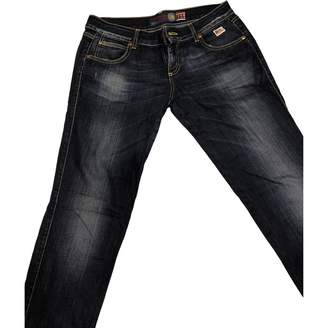 Roy Rogers Roy Roger's Blue Cotton - elasthane Jeans for Women