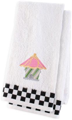 Mackenzie Childs Bird House 2-Piece Hand Towel Set