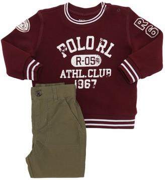 Ralph Lauren Cotton Sweatshirt & Gabardine Pants