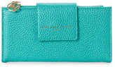 Adrienne Vittadini Teal Fold-Out Wallet