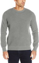 Nautica Men's Long Sleeve Thermo Stitch Crewneck Sweater