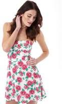 Superdry Womens 90's Print Dress Pink Peonies