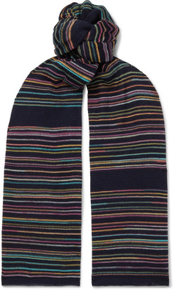 Missoni Crochet-Knit Wool Scarf