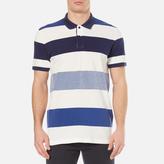 Gant Men's Oxford Multi Stripe Rugger Polo Shirt