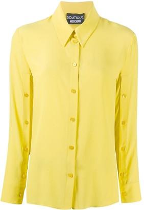 Boutique Moschino Plain Long-Sleeve Shirt