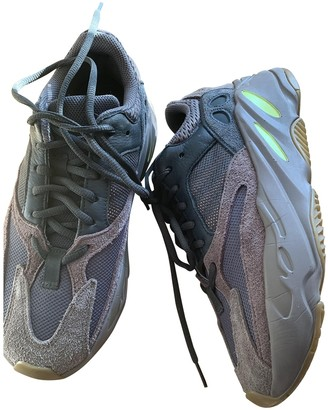 Yeezy X Adidas Boost 700 V1 Grey Leather Trainers