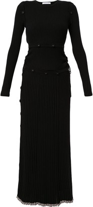 CHRISTOPHER ESBER Ribbed Knitted Dress