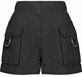 Balmain Linen And Cotton-Blend Shorts