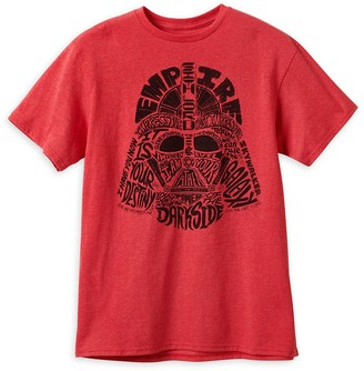 Disney Darth Vader Words T-Shirt for Adults