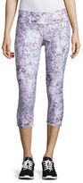 Calvin Klein Performance Print Blocked Capri Leggings