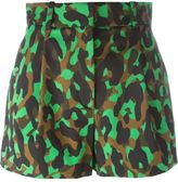 Versace 'Camoupard' shorts