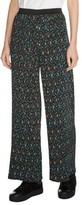 Maje Women's Floral Print Pleat Pants