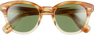 Oliver Peoples Cary Grant 50mm Round Sunglasses