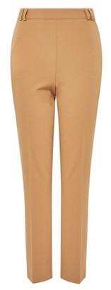 Dorothy Perkins Womens Camel High Waist Slim Leg Trousers