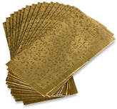 Nicole Miller Gold Rush Disposable Buffet/Guest Towels by Set of 16)