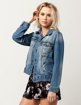Ashley Destructed Womens Denim Jacket