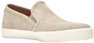 Frye Brett Perforated Suede Slip-On