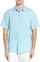 Tommy Bahama Men's 'Sea Glass Breezer' Original Fit Short Sleeve Linen Shirt