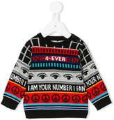 Kenzo intarsia patterned jumper