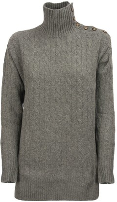 Ralph Lauren Cable-knit Turtleneck Sweater