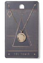 Topman The Tower Tarot Necklace*