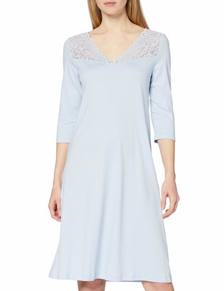Hanro Women's Moments 3/4 Sleeve Gown Nightgown
