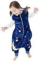 Happy Cherry Baby Boys Girls Zipper Rompers Toddler Kids Jumpsuit Pajamas Sleepsack