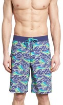 Vineyard Vines Men's Dolphin Fish Wave Board Shorts