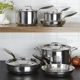 Crate & Barrel Breville ® Thermal Pro Stainless Steel 10-Piece Cookware Set
