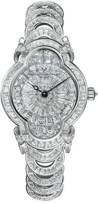 Vacheron Constantin Heures Creatives Heure Romantique Diamond Silver Dial Ladies Watch 37641/F03G-B031