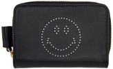 Anya Hindmarch Black Compact Wink Wallet