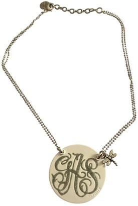 Gas Jeans Diva White Metal Necklaces
