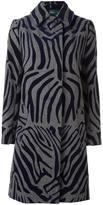 Kolor zebra print coat