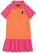 Juicy Couture Girls Knit Colorblock Pique Dress