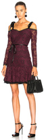Alexis Sophia Dress in Purple.