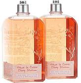 L'Occitane Super-size Bath & Shower Gel Duo inCherry Blossom
