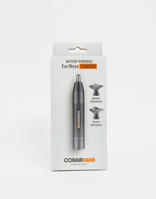 Conair ConairMan battery-operated ear/nose trimmer-No Color