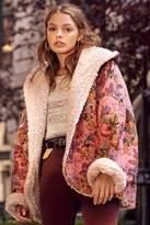 Urban Outfitters Beatriz Reversible Cozy Coat
